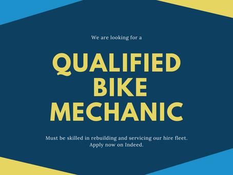 Bike Mechanic Wanted