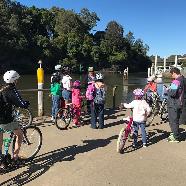 This Saturdays NSW Bike Week activists for families are booked out!_Book now for next Market By The