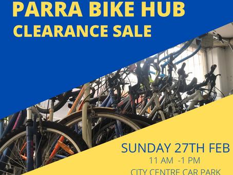Bike Clearance Sale