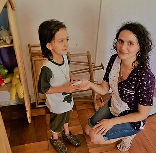 Sara Ramos Ulloa, nutricionista pediátrica