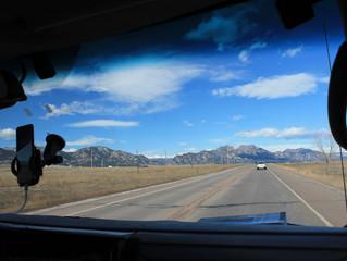 USA - Colorado. Okolice Boulder / Golden