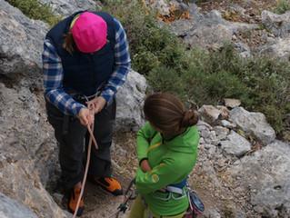 """Z cyklu """"dobre rady"""" - zasady bezpieczeństwa w skałach"""