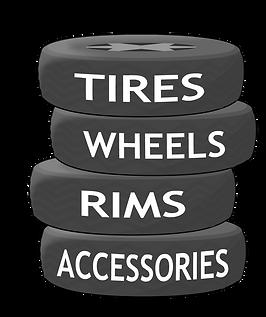 tires, wheels, rims