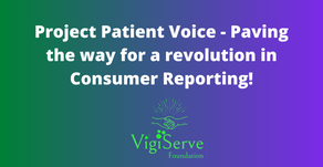 Project Patient Voice -? Revolution in Consumer Reporting!