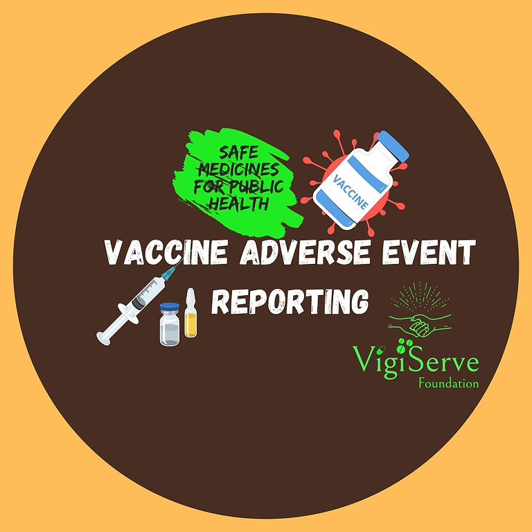 Webinar on Vaccine Adverse Event Reporting