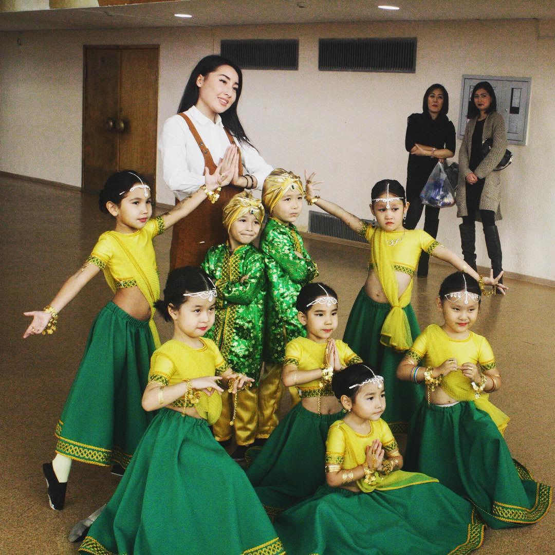 Танцы для детей в Астане