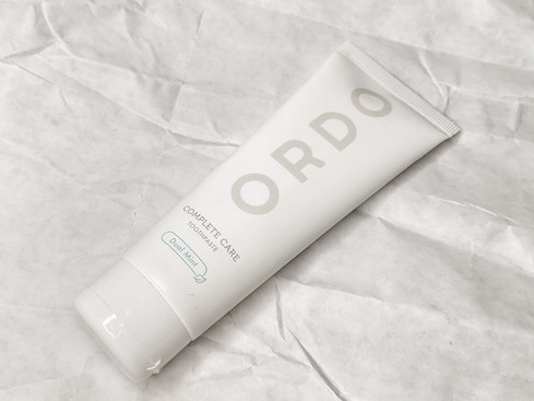 ORDO: A Toothpaste to Get Your Teeth Into