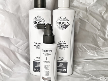 Review: Nioxin for Hairloss