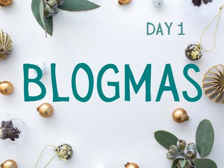 Blogmas Day 1 - Budgeting