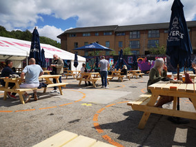 Glasgow Beer Gardens Day One; Successes and Failures