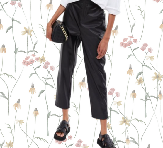 Fashion Victim; Three Ways To Wear Leather Trousers