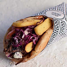 Pulled Beef Pita