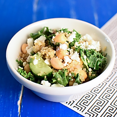 Baby Quinoa Feta Salad