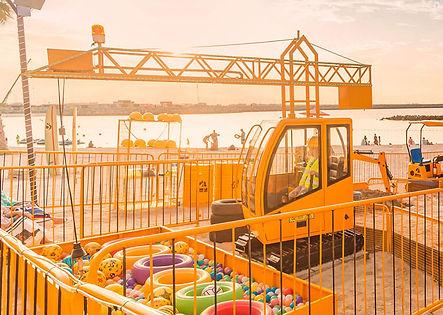 Crane Construction ride, Amusement, kids, event, fun
