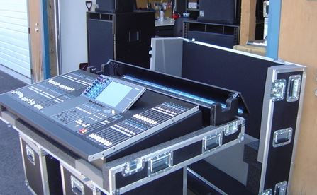ATA Road Case for mixer and sound board