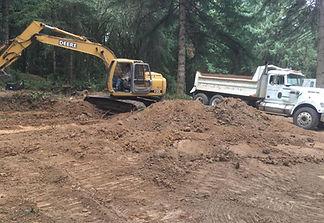 Trucking, Excavating, Septic, Roads