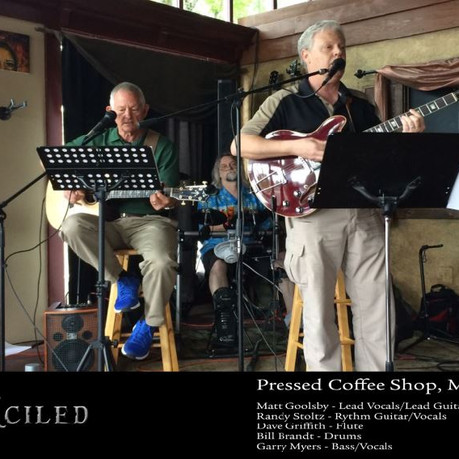 Pressed Coffee Shop hosts Wrecknciled - 1st time!