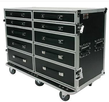 ATA Road Case Auxiliary Storage