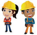 Construction ride, Amusement, kids, event, fun, Oregon, Albany