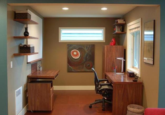 Ravenna Office - Custom Walnut Furniture