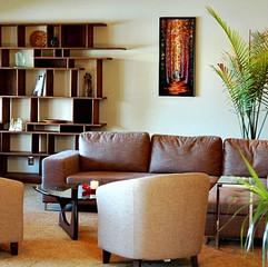 Bilobran Bookcase - Lake Burien Residenc
