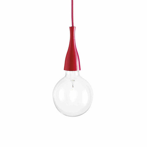 IDEAL LUX PENDELLEUCHTE MINIMAL SP1 ROT