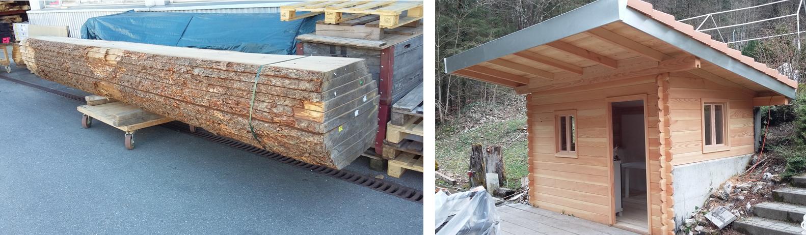 Du bois brut à l'ouvrage