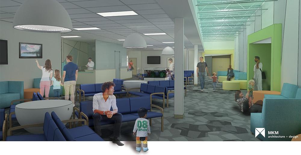 Fort Wayne Pediatrics Waiting Room