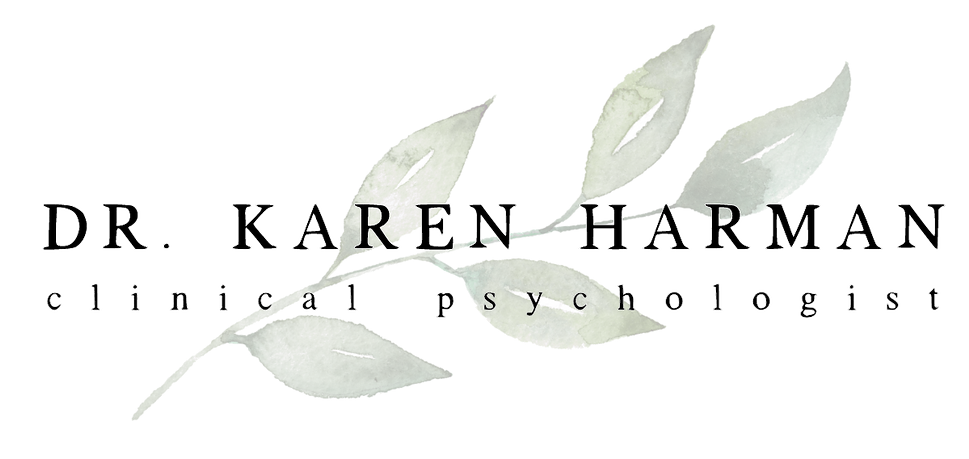 Dr. Karen Harman Clinical Psychologist