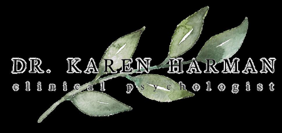 Dr. Karen Harman Clinical Psychologist