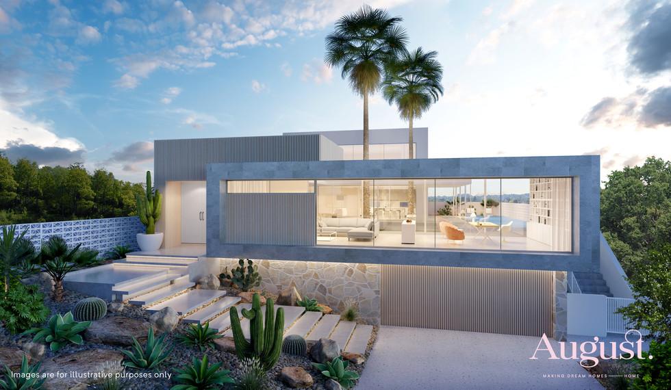 Custom Design | Miami meets Springs | Gold Coast, QLD