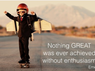 Can enthusiasm overcome disadvantages?