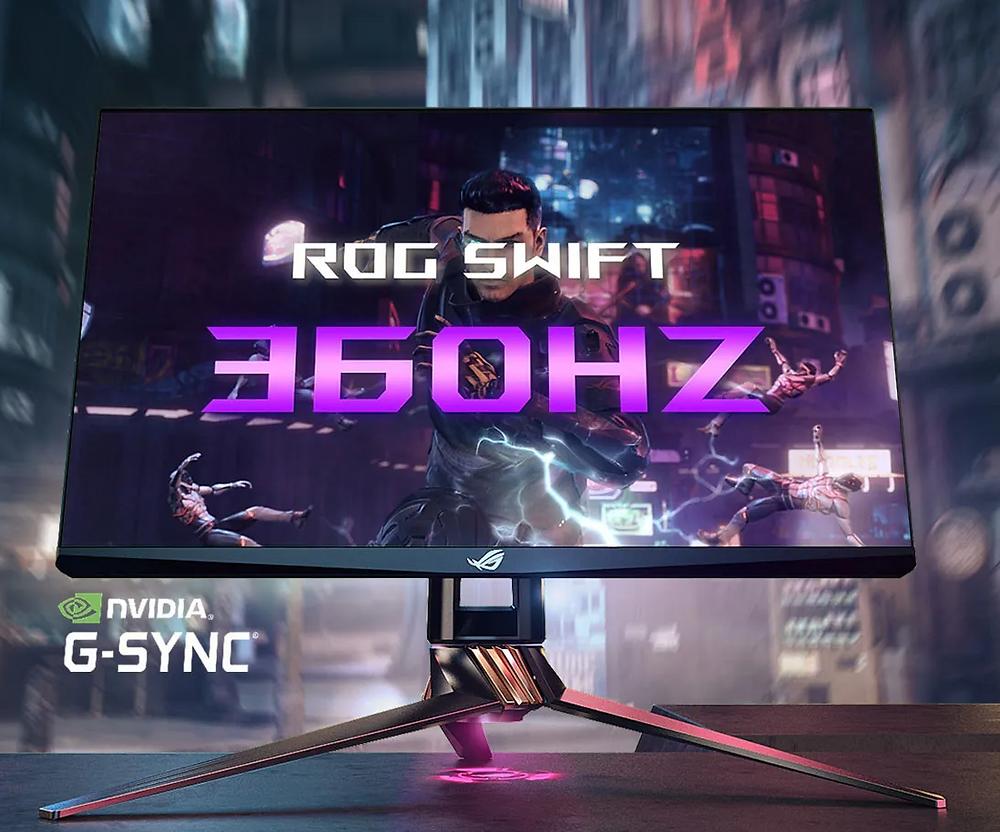 ASUS ROG 360Hz Gaming-Monitor aus der ROG Swift-Reihe