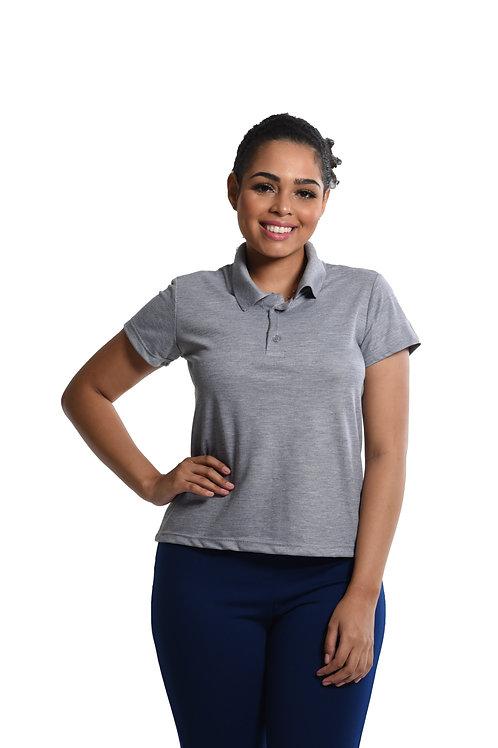 Camiseta Polo Baby-Look