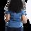 Thumbnail: Camisete Jeans com Elastanto Manga curta