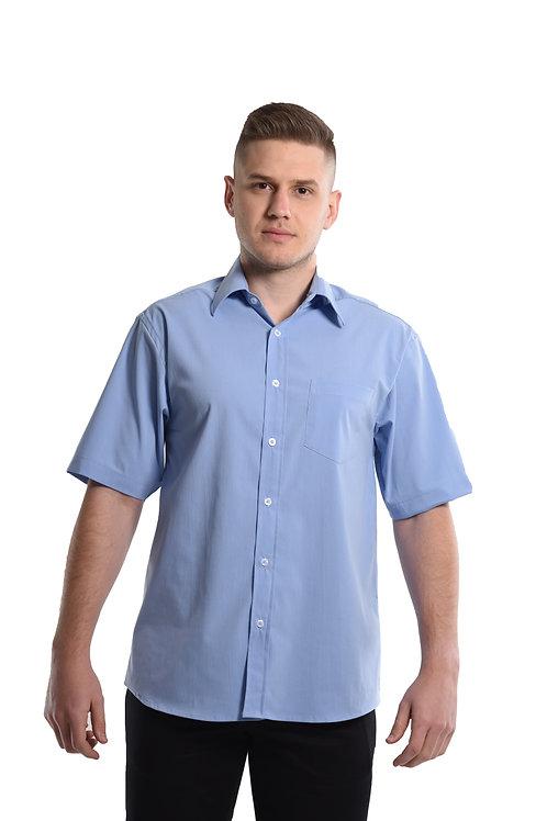 Camisa Tricoline Manga Curta