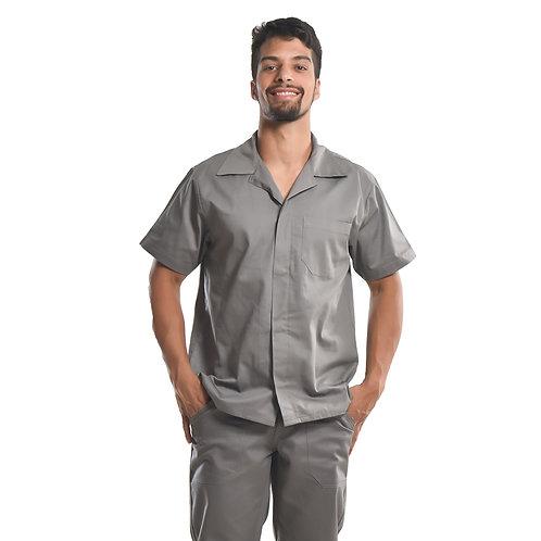 Camisa Profissional Mangas Curtas C/Botões