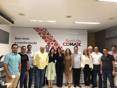 CDMAX recebe clientes para evento exclusivo sobre transformação digital