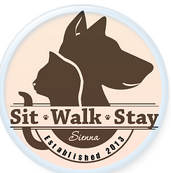 Sit Walk Stay Logo