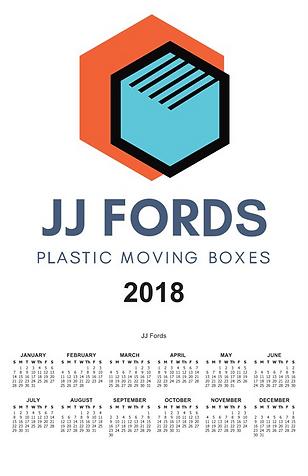 JJ Fords Calendar