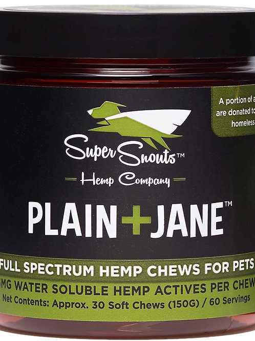 PLAIN+JANE FUNCTIONAL SOFT CHEWS :: THC FREE :: FULL SPECTRUM (5MG/CHEW)