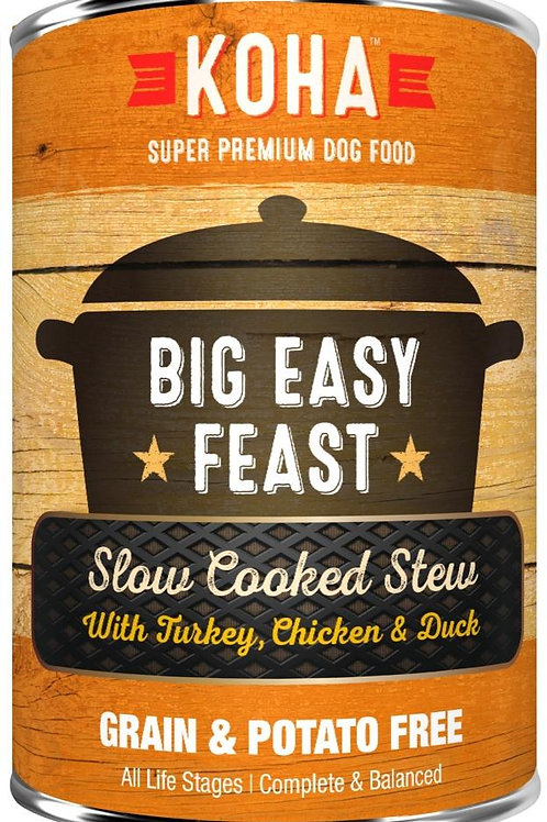 KOHA GRAIN & POTATO FREE BIG EASY FEAST SLOW COOKED STEW WITH TURKEY, CHICKEN &