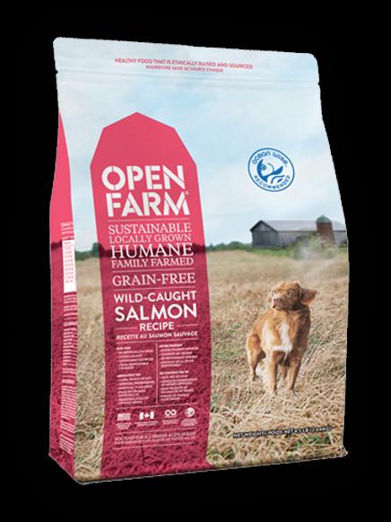 OPEN FARM GRAIN-FREE WILD-CAUGHT SALMON RECIPE DRY DOG FOOD
