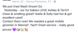 Wash Groom Go Reviews