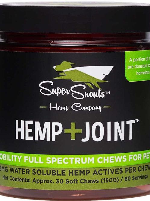 HEMP+JOINT FUNCTIONAL SOFT CHEWS :: THC FREE :: FULL SPECTRUM (5MG/CHEW)