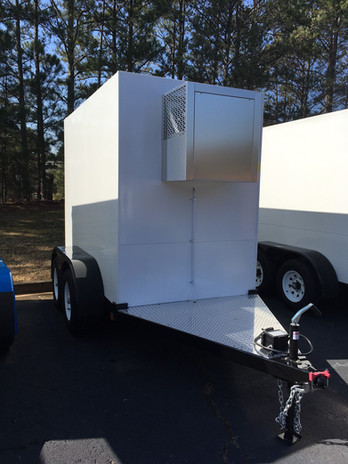 Small Refrigerated Trailer For Rent Houston