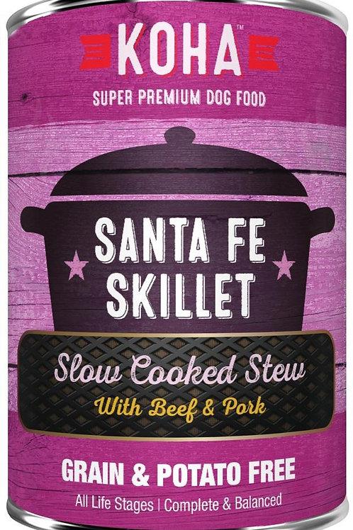 KOHA GRAIN & POTATO FREE SANTA FE SKILLET SLOW COOKED STEW WITH BEEF & PORK CANN