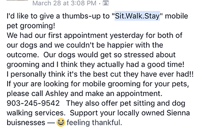 Mobile Dog Grooming Missouri City
