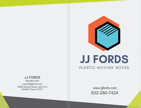 JJ Fords Tri Fold Brochure