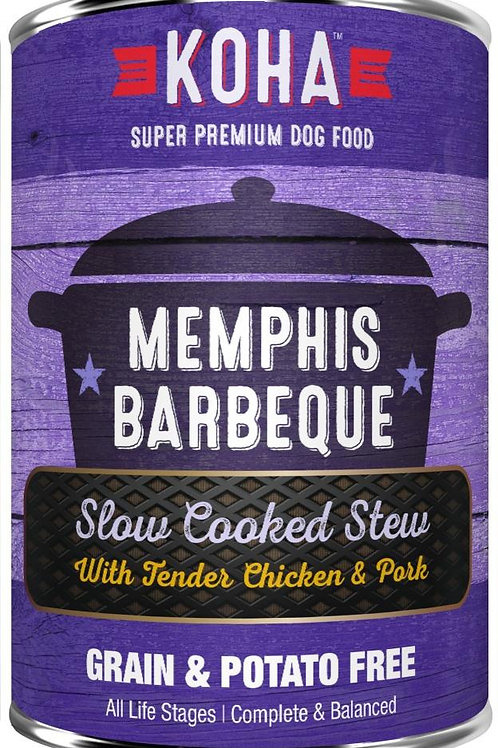 KOHA GRAIN & POTATO FREE MEMPHIS BARBECUE SLOW COOKED STEW WITH CHICKEN & PORK C